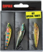 Rapala Schwimmer Set Forelle CD5