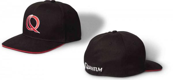 Quantum Rapper Cap 58cm Schwarz