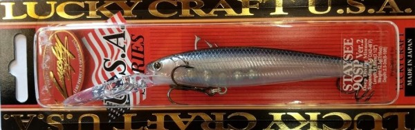 Lucky Craft Staysee 90 SP ver.2 Ghost Tennessee Shad