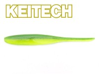 "KEITECH 5"" Shad Impact - Lime / Chartreuse"