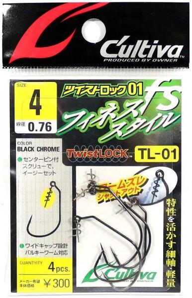 Cultiva Twist Lock Offset Haken TL01 Gr. 6