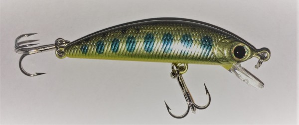 Lucky Craft Humpbuck Minnow 50 SP Yamame Champagne Go