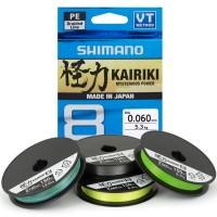 Shimano Kairiki 150m 0.10mm 6.5kg Grün