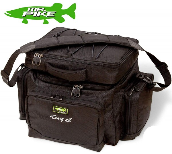 Mr. Pike Carryall & Freezer Bag schwarz 45cm
