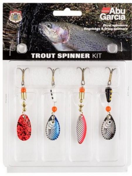 Abu Garcia Trout Spinner Kit 4er
