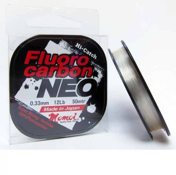 MOMOI HI-CATCH FLUOROCARBON NEO 50M - 0.12 MM