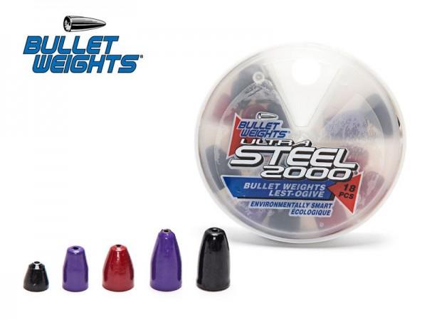 Bullet Weights Ultra Steel - Painted 18-teilig