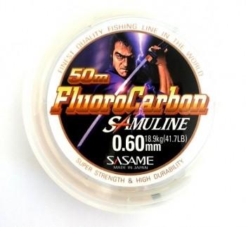 SASAME Fluoro Carbon SAMULINE 50m / 0.60mm