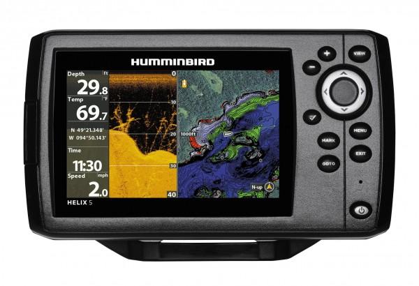 Echolot-GPS Helix 5 G2 DI (Down Imaging)