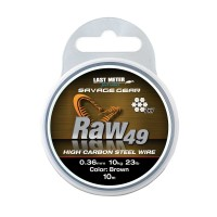 SAVAGE GEAR RAW49 STAHLVORFACH 10m - 23kg