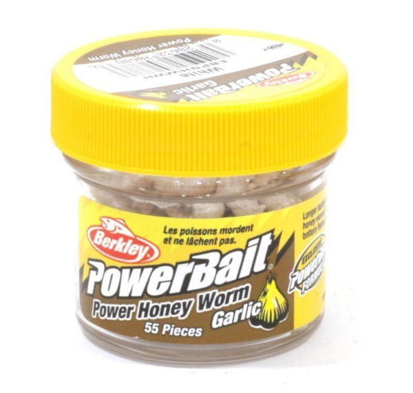 Power Bait Power Honey Worm White Garlic