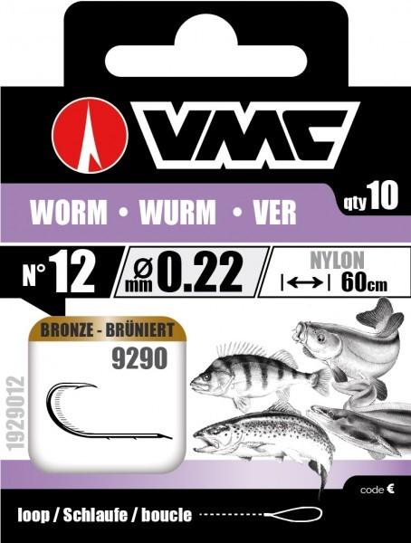 VMC Haken gebunden WURM Gr. 6