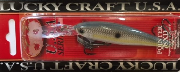 Lucky Craft Pointer 78 XD Sexy Chartreuse Shad