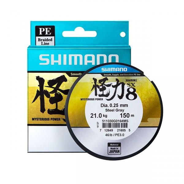 Shimano Kairiki 150m 0.23mm 22.5kg Grün